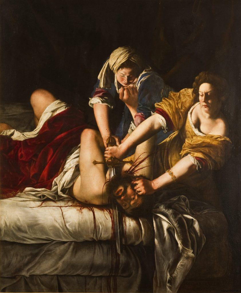 Três curiosidades sobre a obra-prima de Artemisia Gentileschi, base da  história da arte feminista   Dasartes