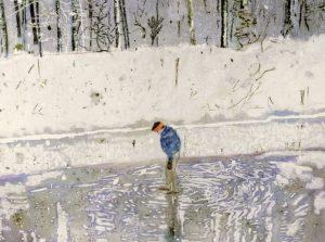 Blotter, Peter Doig