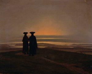 Caspar_David_Friedrich_-_Sunset_(Brothers)_-_(MeisterDrucke-109470)