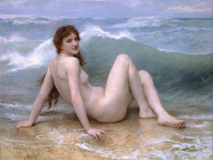 The Wave *oil on canvas *121 × 160.5 cm *signed b.l.: W BOVGVEREAV 1896
