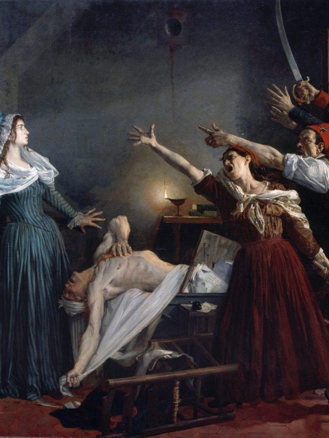 Cenas dramáticas nas pinturas