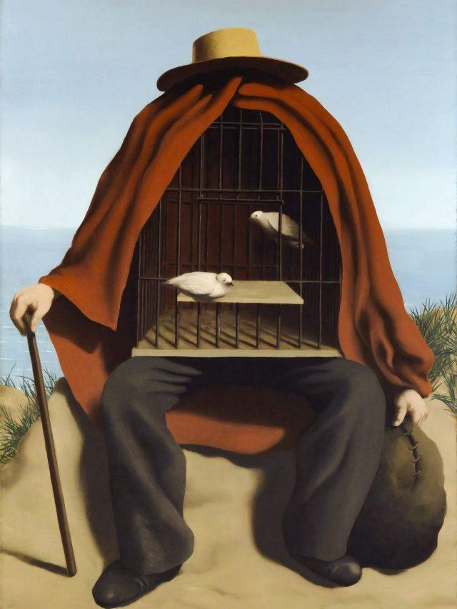 Top 10 pinturas mais enigmáticas de Magritte